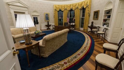 Watch now: Inside Joe Biden's newly decorated Oval Office