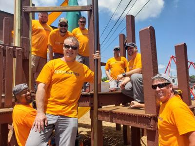 Spire, Inc. Helps Midtown Community Services Build New Playground