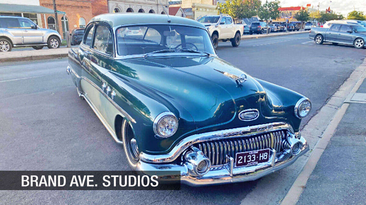 1951 Buick sighting Down Under