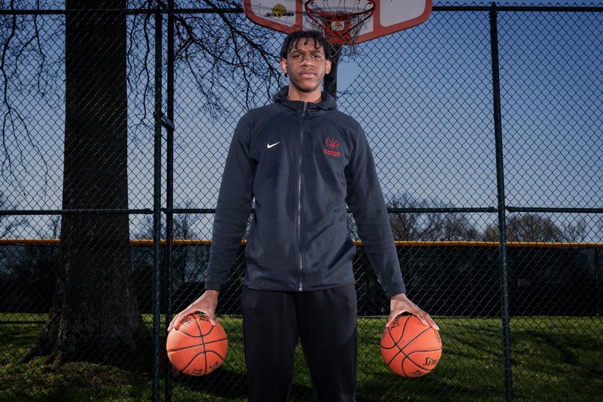 Tarris Reed Jr., Chaminade, 2021 All-Metro boys basketball POY