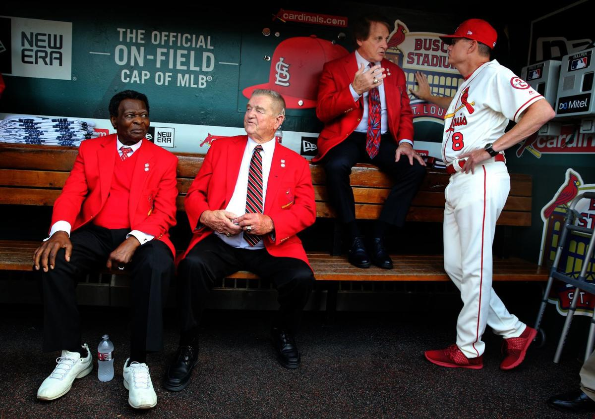 Shildt backs 'Yadfather's' comments, says Musial, Brock didn't find St. Louis 'boring'