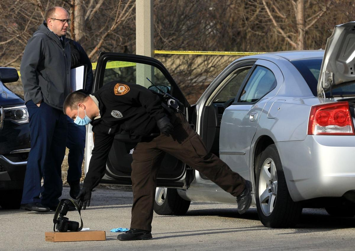 St. Louis County police process shooting scene in St. Louis City