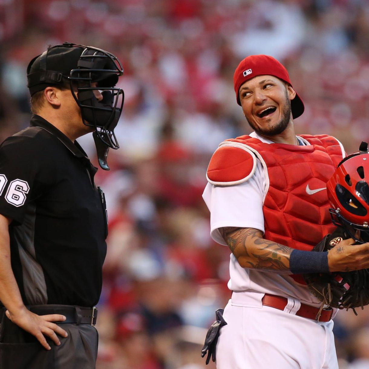 0edfee04 BenFred: Where's the love for Yadi? Cards catcher isn't getting fair ...