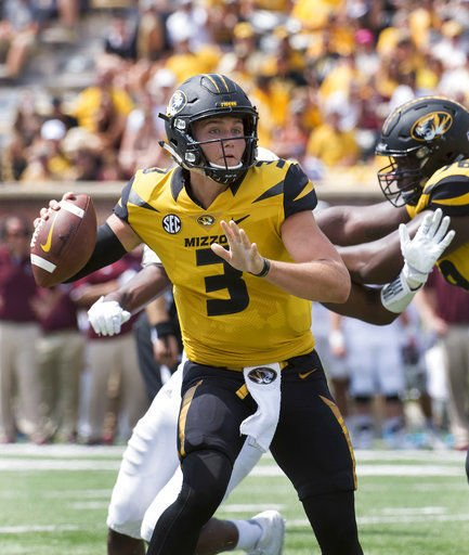Drew Lock's Career Day Helps Mizzou Record a 72-43 Win