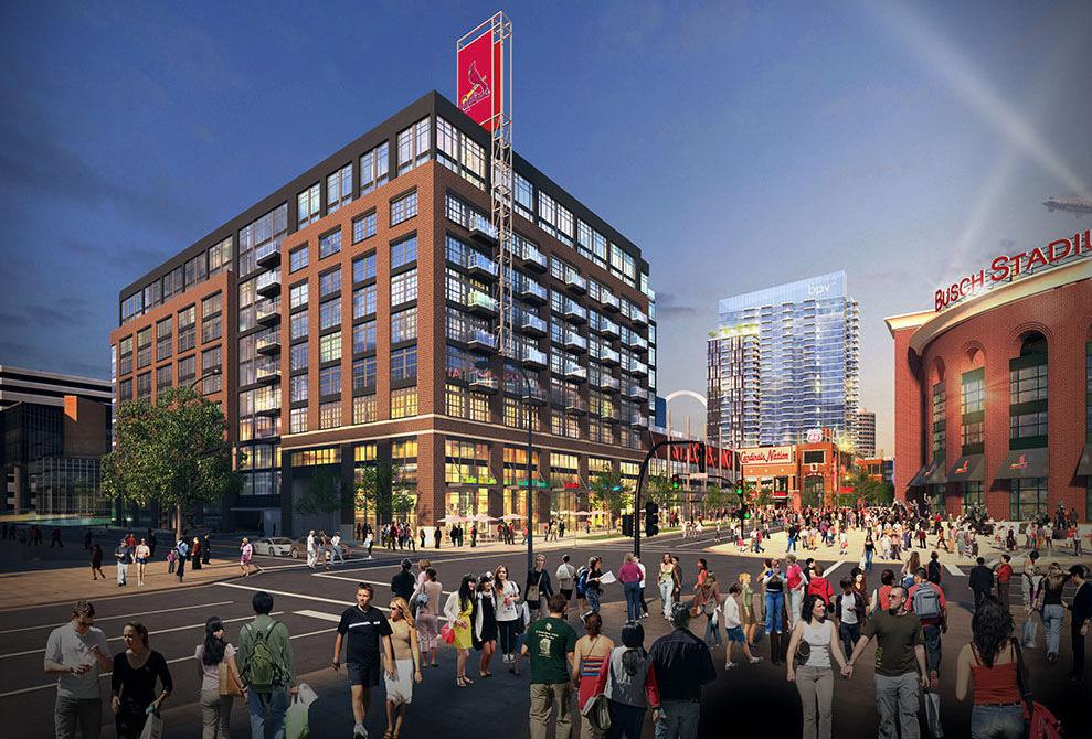 Ballpark Village Phase Ii Rendering
