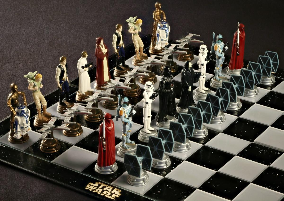 World Chess Hall of Fame chess sets