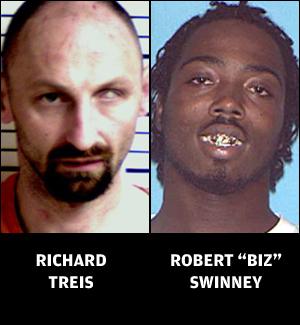 """Richard Treis and Robert """"Biz"""" Swinney"""