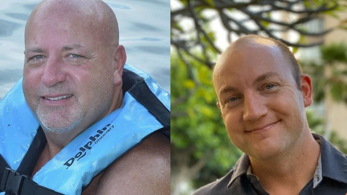 Look-alike strangers: Father-son winners have never met in person