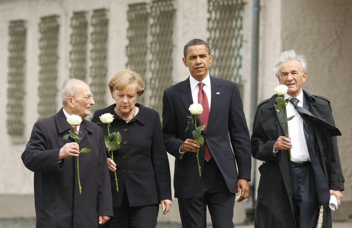 Obama and Elie Wiesel