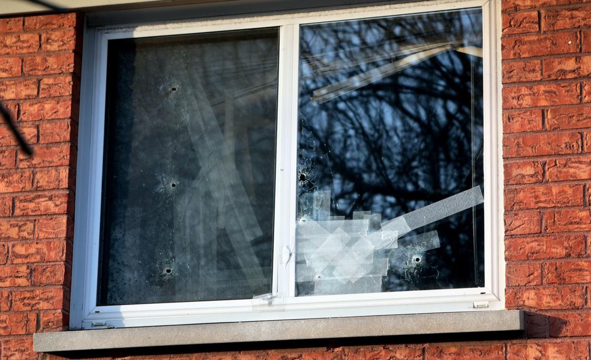 Shooter riddles Maplewood apartment with bullets for second night