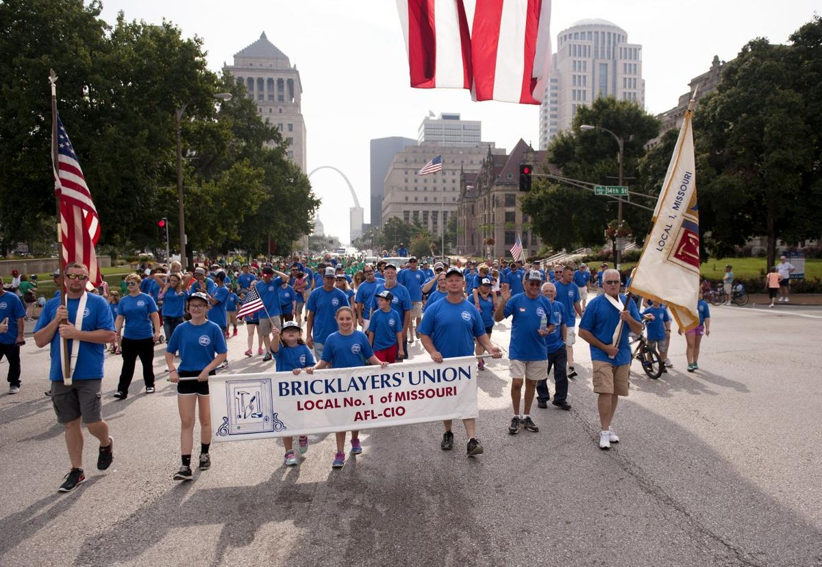 2015 Labor Day Parade in downtown St. Louis