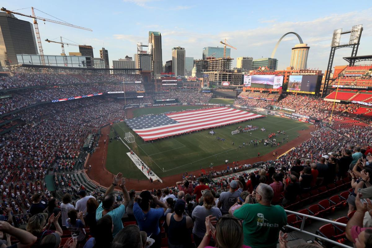 USA vs. New Zealand, pre-Women's World Cup friendly at Busch Stadium in St. Louis