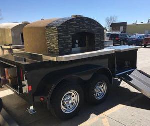 Maplewood restaurant gestohlen pizza-trailer geborgen in south St. Louis County