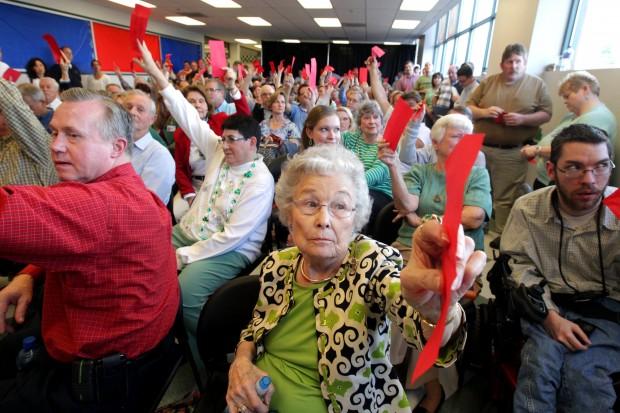 Wildwood caucus contentious