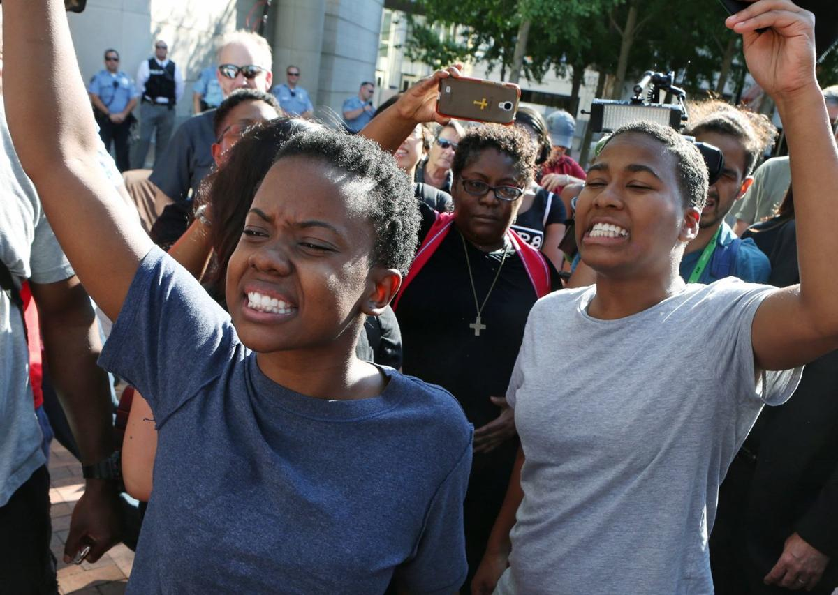 Jailed protesters make bond just as protest ends