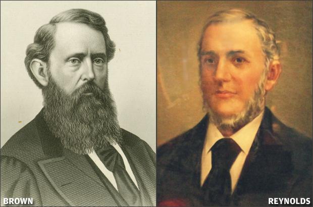 Gratz Brown and Thomas C. Reynolds