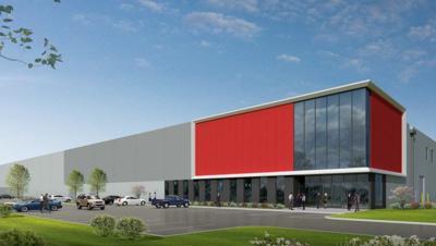 Rendering of NorthPark Distribution Center 1