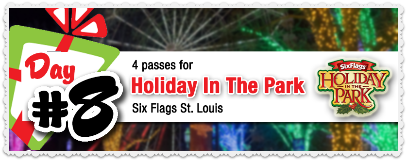 Go! Magazine 12 Days of Giveaways 🎡 Day #8 Six Flags St