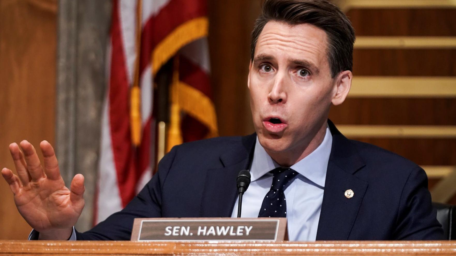 Walmart apologizes for tweet calling Sen. Josh Hawley sore loser