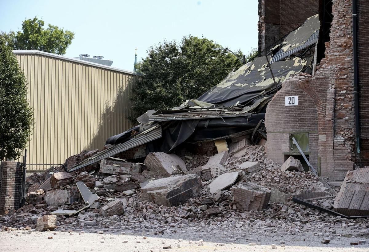 Lemp Brewery building collapses