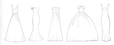 Gown shapes