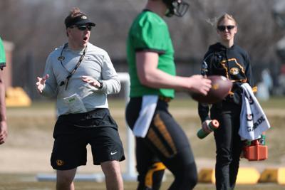 Missouri football spring practice