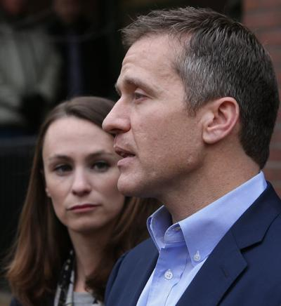 Gov-elect Greitens gives press conference about robbery