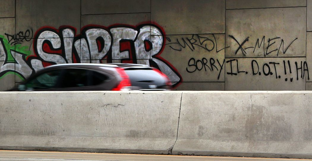 Graffiti becomes growing area problem