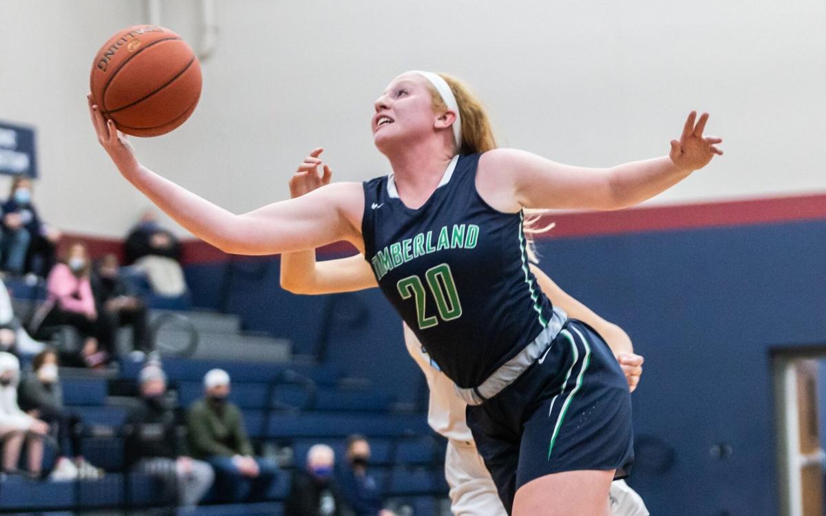 St. Dominic vs. Timberland girls basketball
