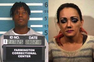 St. Louis Mann und Granit-Stadt Frau aufgeladen mit dem Mord an Ihrem ex-Freund