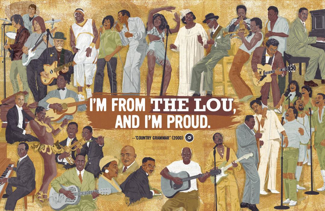 """St. Louis Sound"" mural"