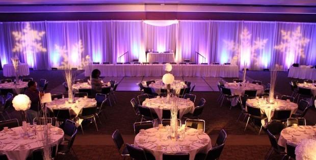 Wedding Reception in Ballroom AB