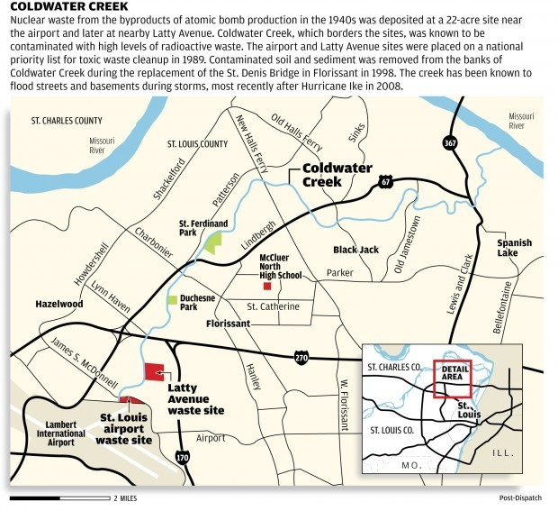 Coldwater Creek map stltodaycom