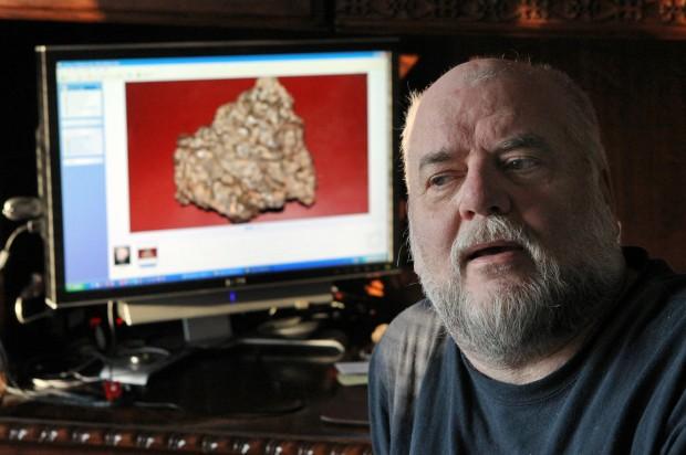 Stolen meteorite returned