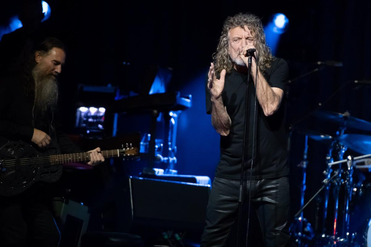 Robert Plant and the Sensational Space Shifters at the Pageant