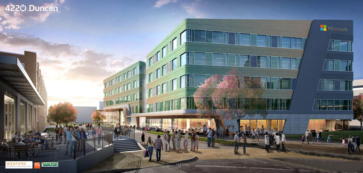 Microsoft's planned new office in Cortex