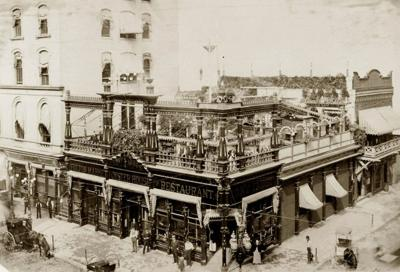 Look Back:  Faust's Restaurant, 1916