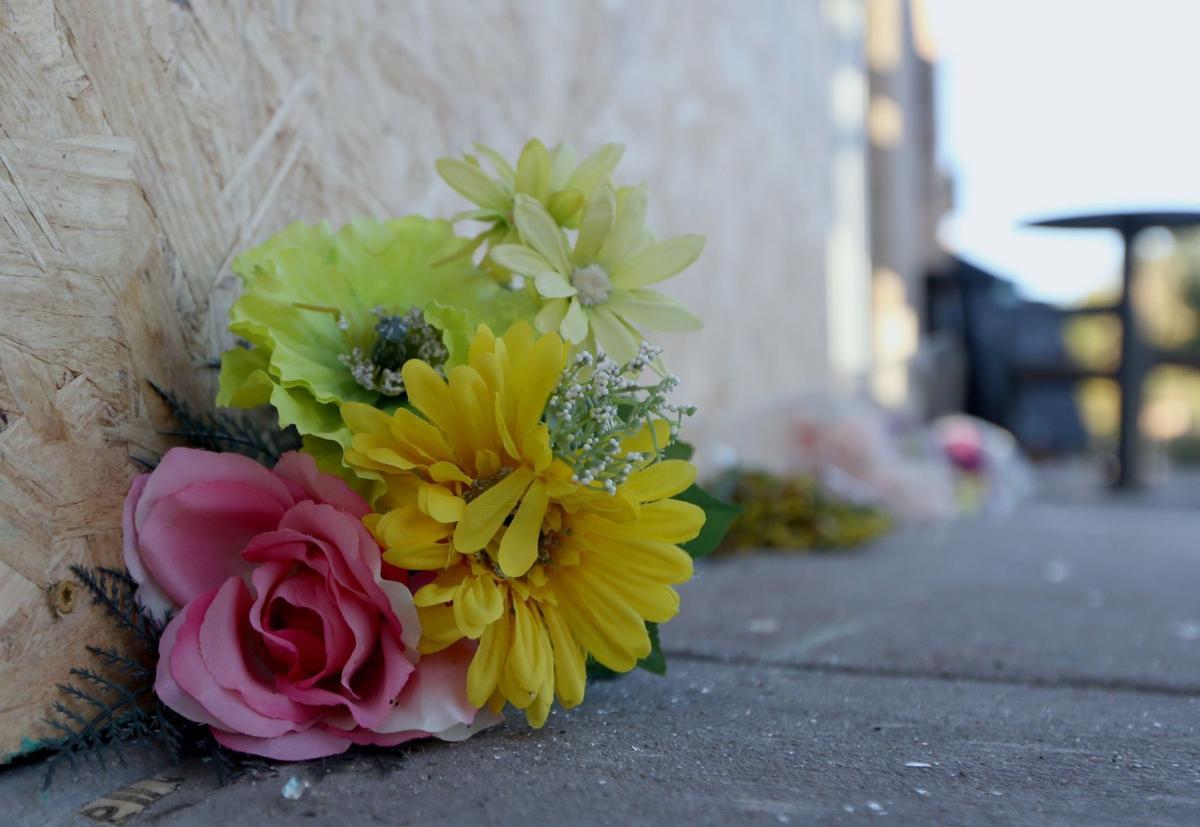 Flowers memorilize woman killed at Olivette Starbucks