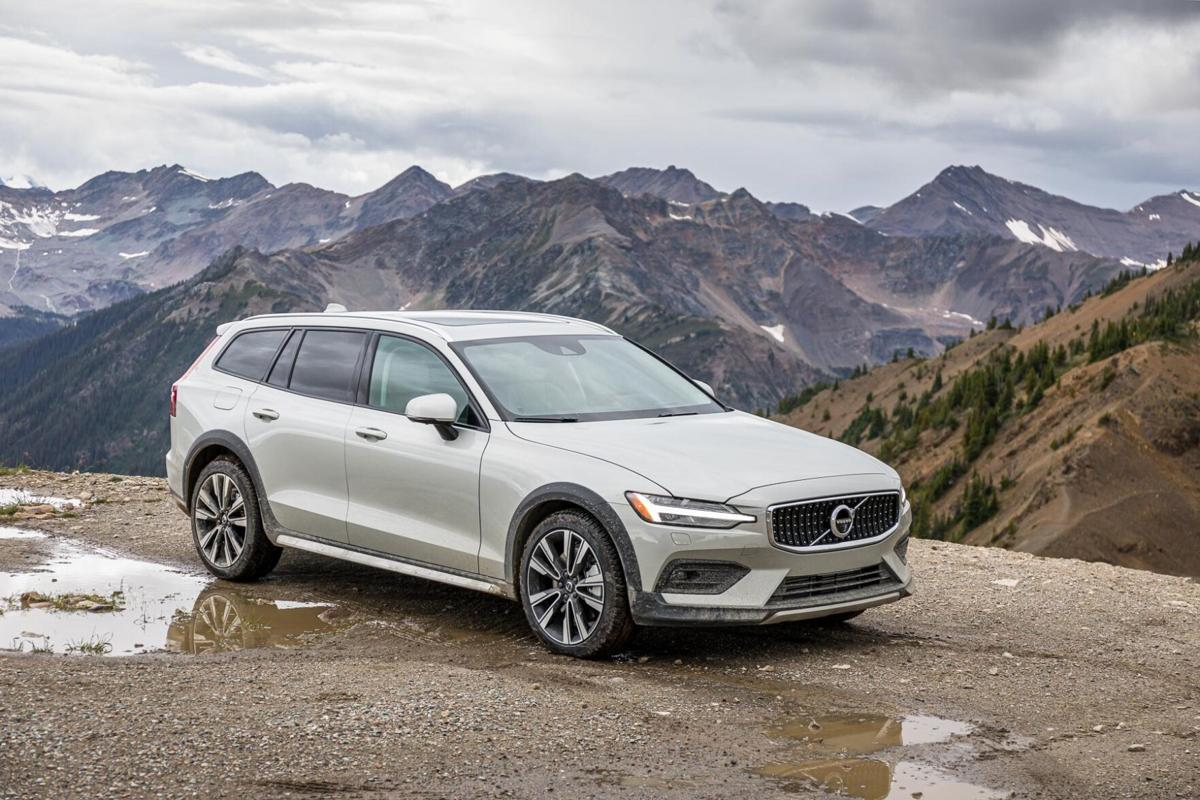 "A taller version of the standard V60 wagon, the Cross Country ""all road estate"" gets a suspen- sion lift and tougher styling."