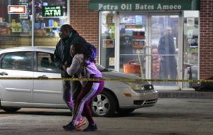 セントルイス役員の撮影と殺人の男が南セントルイス