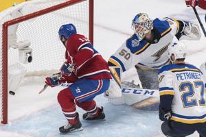 Berube bottom line: Blues 'tidak bermain cukup keras' di 6-3 kehilangan Montreal