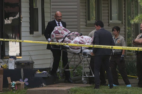Four people shot to death in north St. Louis County home