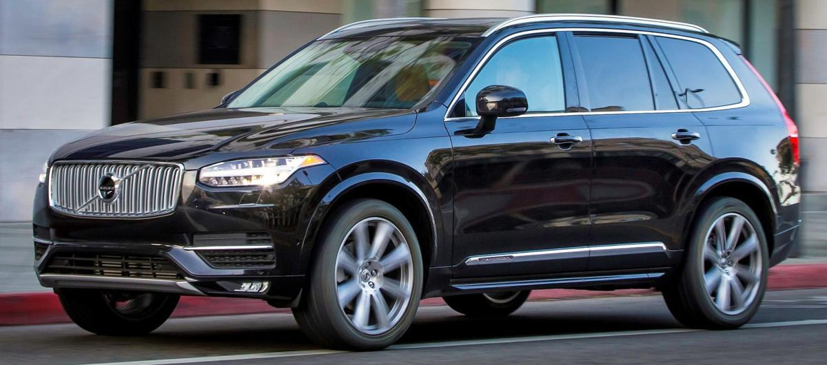 2017 volvo xc90 t6 awd it beats the odds cutting a dashing figure automotive. Black Bedroom Furniture Sets. Home Design Ideas