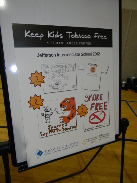 Sample Essay High School Siteman Awarded Six Students With Prizes For Antismoking Essays And  Tshirt Designs As Part Of  Business Cycle Essay also Writing Custom Code For Reporting Services 2015 St Charles Students Spread Antismoking Message  Education News  Business Plan Writers In Sc