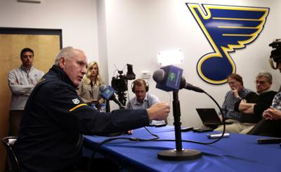 Berube named Blues' interim head coach