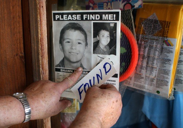 Shawn Hornbeck missing poster amended after he's found