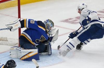 Blues host the Maple Leafs at the Enterprise Center