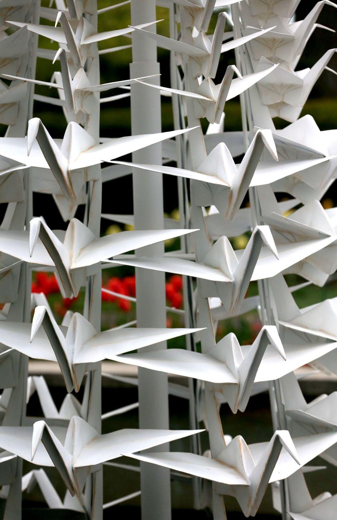 Scenes from Origami in the Garden