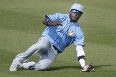 Rays Braves Spring Baseball