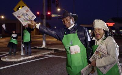 Lou and Jackie Brock for Old Newsboys Day